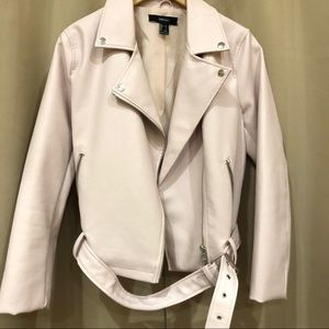 Forever 21 New Faux Leather Jacket Large